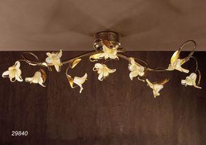 Art. 29840 Jolie, Deckenleuchte mit Blumenmuster