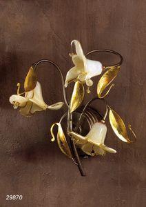 Art. 29870 Jolie, Wandlampe mit Muranoglas