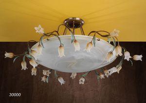 Art. 30000 Butterfly, Handgefertigte Deckenleuchte