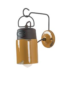 Art. SL 149, Applique Lampe, Bergbau Stil