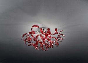 ASTRO Ø 50, Deckenleuchte aus mundgeblasenem Glas