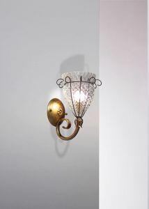 Canale Mb115-015, Klassische Baloton Kristall Wandlampe