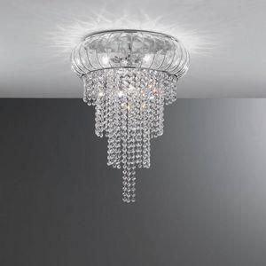Cascata Sc366-015, Wunderschöne Deckenleuchte aus Kristall, mundgeblasen