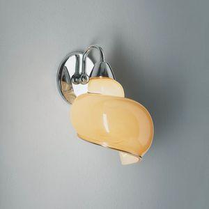 Chiocciola Rb241-025, Lampe in Form einer Schnecke, in Glas