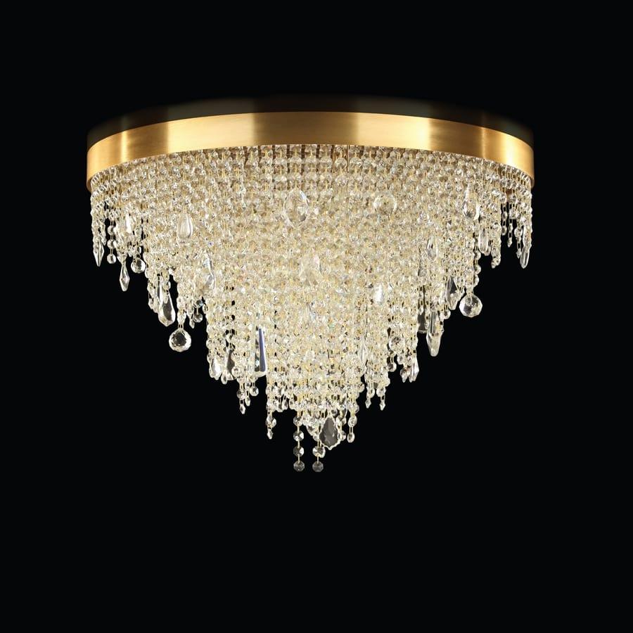 goldene deckenlampe cool deckenlampe marsel stoff schwarz. Black Bedroom Furniture Sets. Home Design Ideas