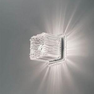 Cubetto La609-015, Würfelförmige Applikation in geblasenem Glas