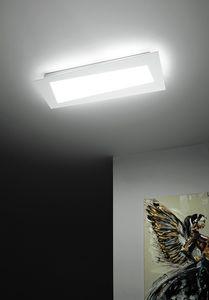 Debra Spigolo Rettangolo, Deckenleuchte mit integrierten LED-Modulen