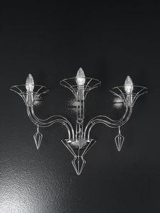 DEDALO L 56, Wandlampe in Form eines Kandelabers