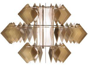 Diamante new applique, Moderne Wandleuchte aus Stahl
