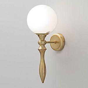 L3213, Wandlampe mit Diffusor aus Glaskugeln