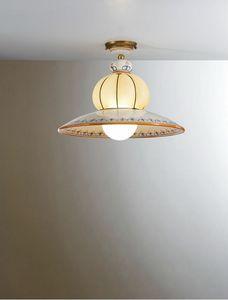 Nonna Vc196-026, Traditionelle Deckenlampe, von Hand dekoriert