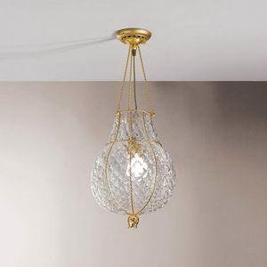 Odalisca Mc128-040, Luxuriöse Deckenlampe aus Boloton Kristall