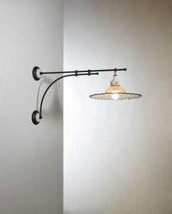 Pipistrello Vb220-050, Wandlampe im traditionellen Design