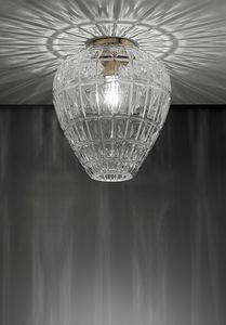 Reflex, Deckenleuchte aus mundgeblasenem Glas