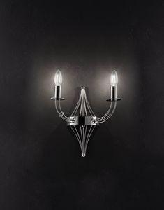 RIALTO L 32, Wandlampe in Form einer Kerze