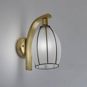 Salice Rb429-020, Lampe mit milchweißem Glasschirm