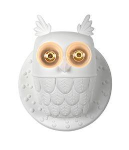 Ti.vedo AP105 1B INT, Applique Lampe, Eule geformt, aus Keramik