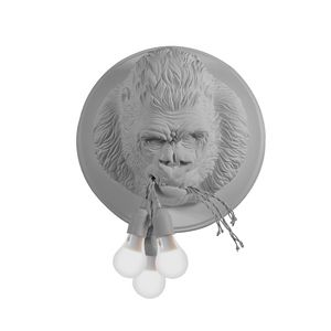 Ugo Rilla AP152, Lampe in Form eines Gorillas, aus Keramik