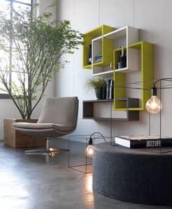 Citylife 51, Regale für moderne Wohnräume und Warteräume