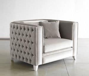 Art. VL911, Gepolsterte Sessel, ideal für moderne Büros und Wohnzimmer