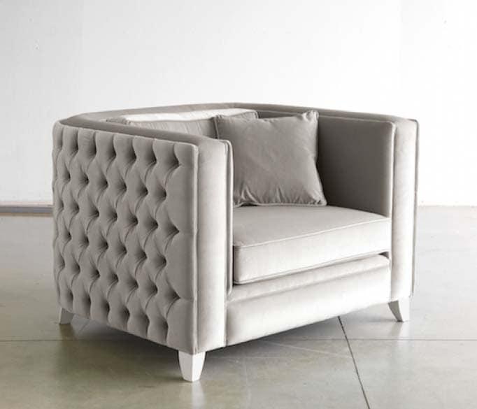 gepolsterte sessel ideal f r moderne b ros und wohnzimmer idfdesign. Black Bedroom Furniture Sets. Home Design Ideas