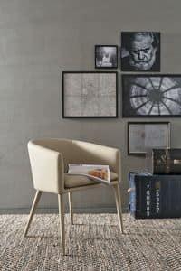 BALTIMORA PT600, Moderne Sessel ideal für Bars und Wohnungen