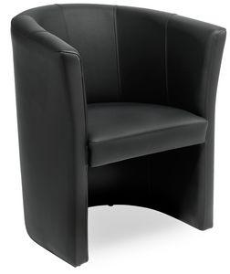 Duke 1P, Sessel für Wartezimmer, mit anpassbarer Polsterung