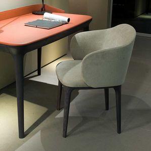 Manda XL poltrona, Sessel in perfekter Balance zwischen Design und Klassizismus