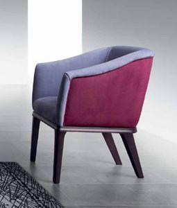 PO68 Club, Sessel mit elastischen Riemen für mehr Komfort