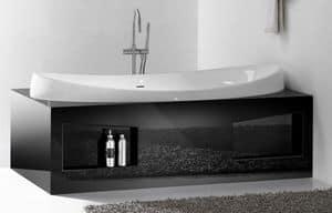 CHARME BATHTUB, Badewanne in Keramik