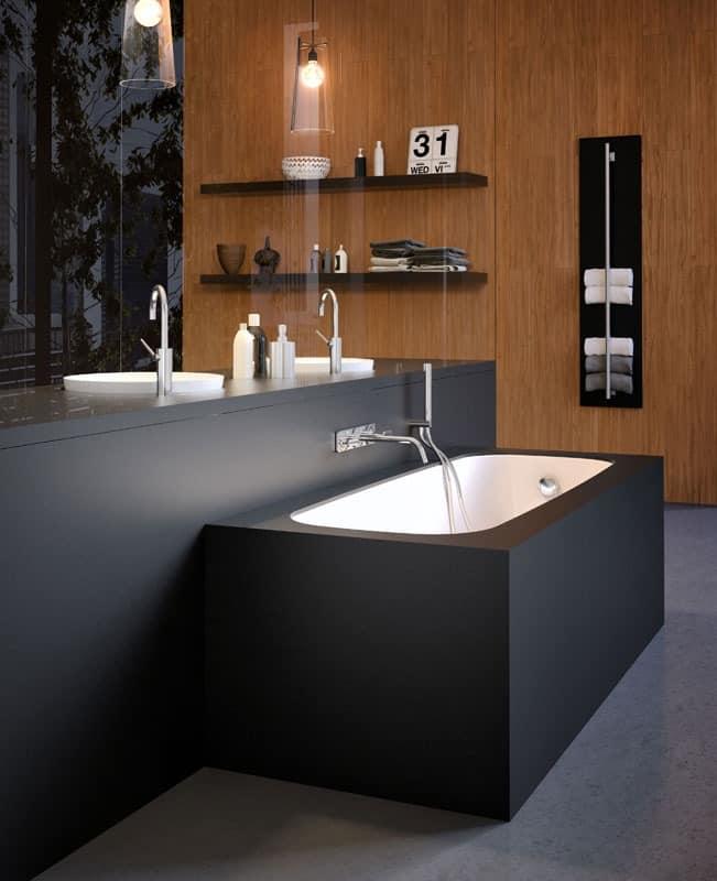moderne badewanne mit verschiedenen beschichtungen und farben idfdesign. Black Bedroom Furniture Sets. Home Design Ideas