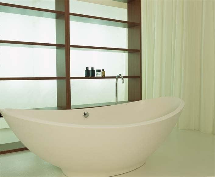 Badewanne in velet krummlinigen idfdesign - Mini badewanne ...