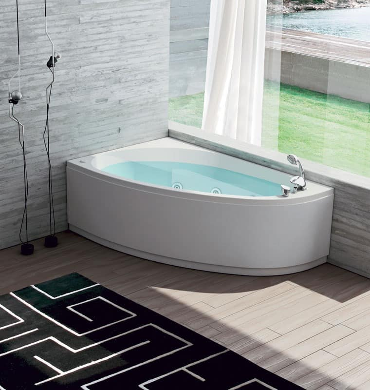 moderne badewanne 12 injektoren airpool idfdesign. Black Bedroom Furniture Sets. Home Design Ideas