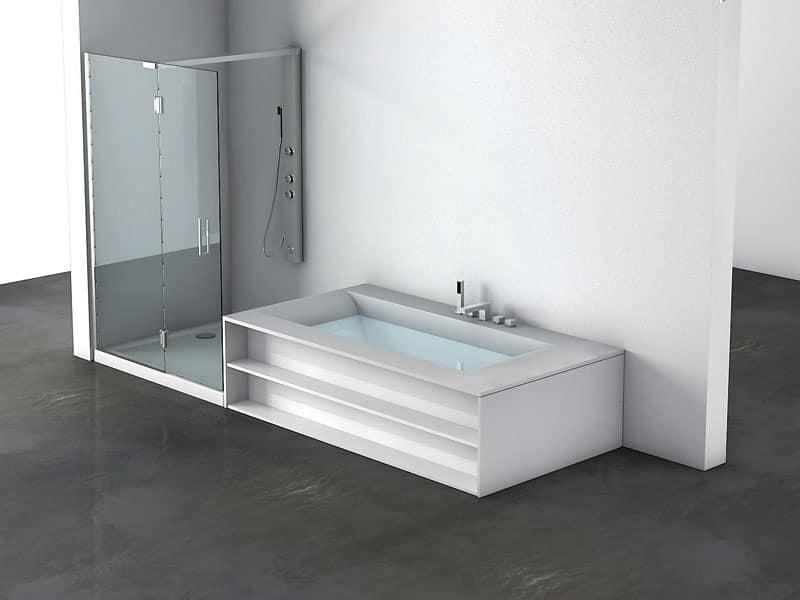 badewanne und dusche angrenzenden f r thermalb der idfdesign. Black Bedroom Furniture Sets. Home Design Ideas