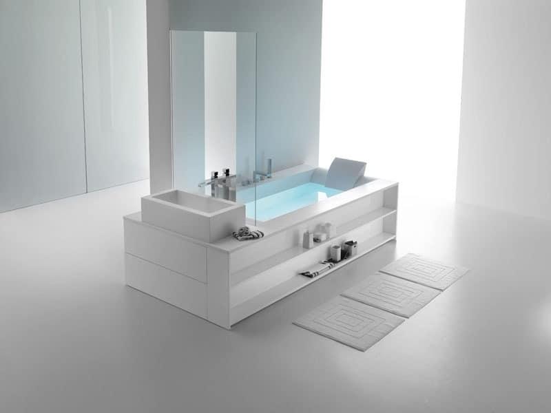 moderne badewanne beauty center idfdesign. Black Bedroom Furniture Sets. Home Design Ideas