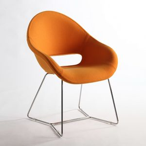 Palm LO, Feuerfeste Sessel, ideal für Büro -Bar und Hotel, sehr komfortabel