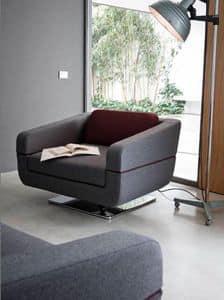 Dune Sessel, Sessel für Wartezimmer, mit Federsystem