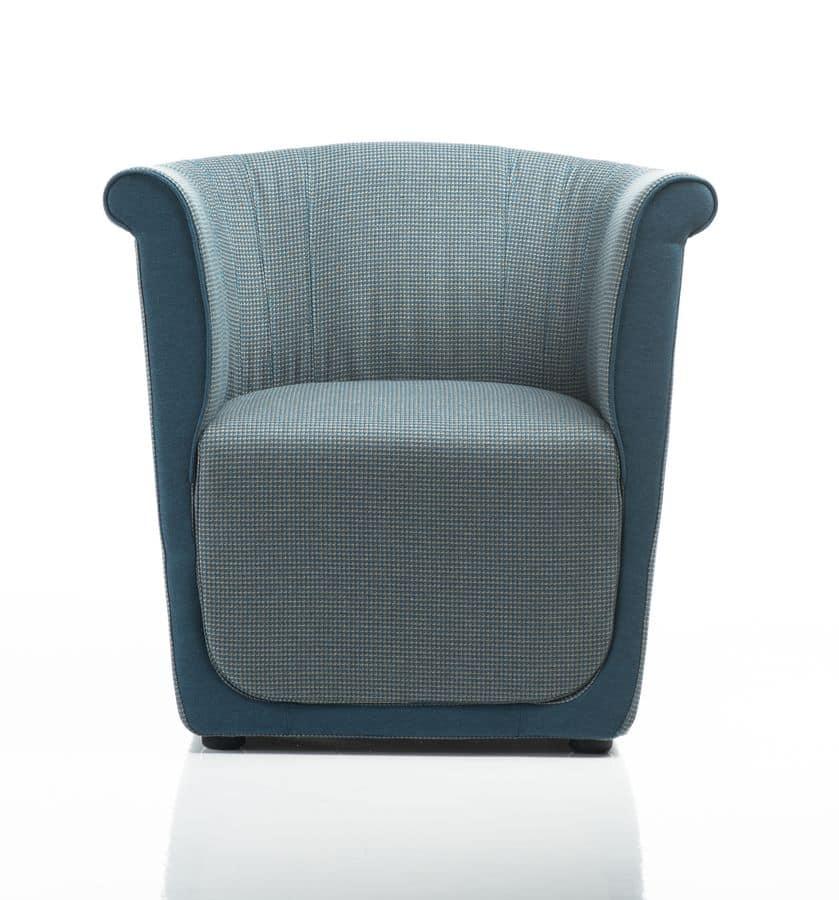 Bequemen sessel aus polyurethan f r wohnbereich idfdesign for Sessel wartebereich