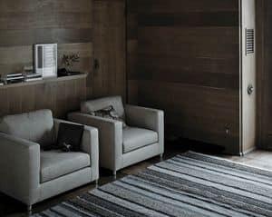 Mini G-Sessel, Sessel für Wohnzimmer oder Wartezimmer, gepolstert