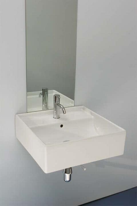 keramik quadrat waschbecken f r elegante b der idfdesign. Black Bedroom Furniture Sets. Home Design Ideas