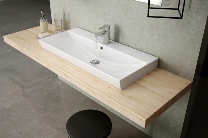 waschbecken mit berlauf verschiedenen gr en erh ltlich idfdesign. Black Bedroom Furniture Sets. Home Design Ideas