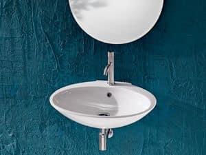 SLIM BASIN, Waschbecken aus Keramik