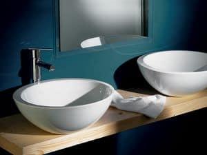SPOT SOLEIL BASIN, Große Waschbecken aus Keramik