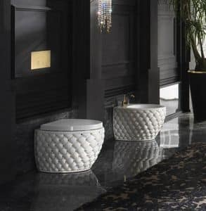 CLASS WC BIDET, Gesteppt Sanitärkeramik aus Keramik
