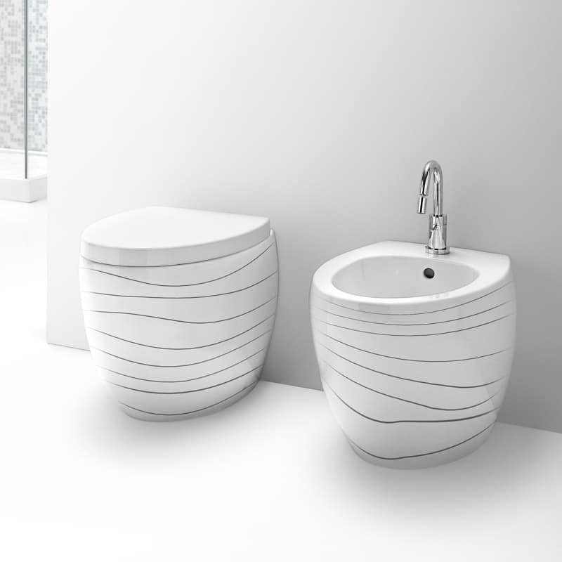 Sanitärartikel  Sanitärartikel aus Keramik, verschiedene Veredelung erhältlich ...