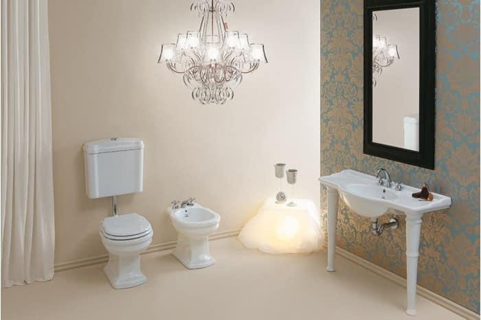 wc mit niedrigem niveau zisterne sitzbezug und bidet idfdesign. Black Bedroom Furniture Sets. Home Design Ideas