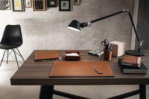 Ascanio 6pz, Schreibtischtasche, Stifthalter, Papiermesser für Schreibtisch