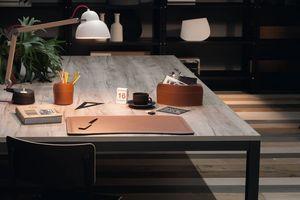 Brando 4pz, Schreibtischtasche, Stifthalter, Papiermesser für Schreibtisch