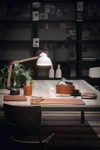 Brando 6pz, Schreibtischzubehör Set, aus regeneriertem Leder