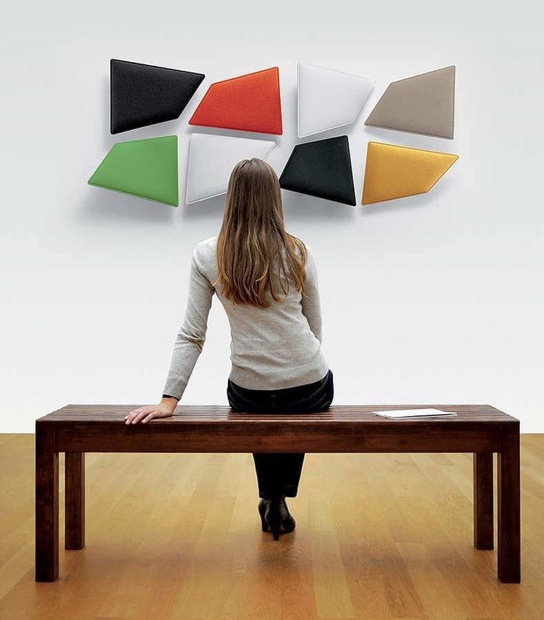 schallschluckende modulplatte f r b ro und zu hause idfdesign. Black Bedroom Furniture Sets. Home Design Ideas